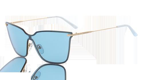 Zonnebril Lichte Glazen : Ultramoderne schildvormige zonnebril van calvin klein den helder